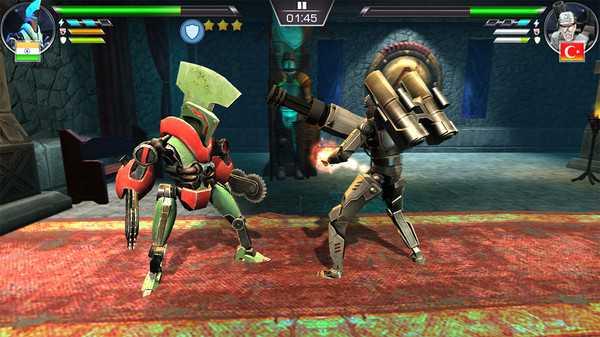 Screenshot Clash of Robots