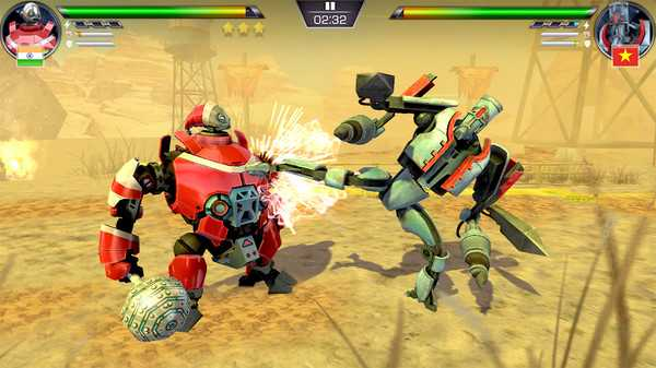 Screenshot Clash of Robots