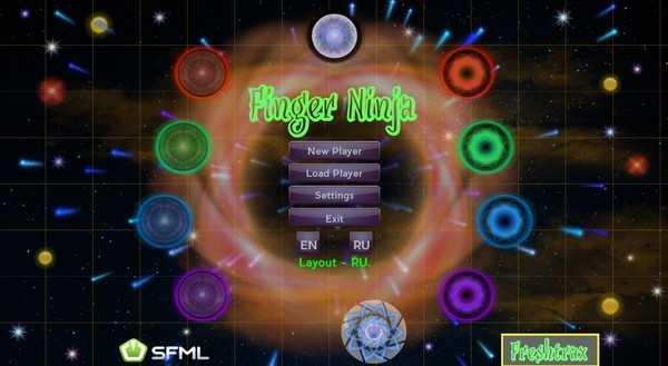 Screenshot Finger Ninja