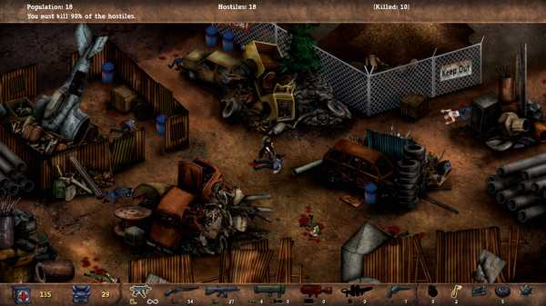 Screenshot POSTAL Redux