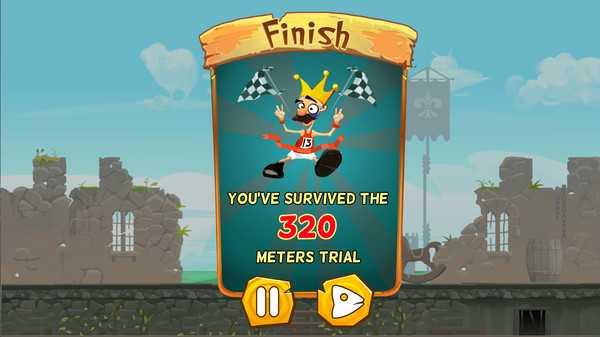Screenshot Running King