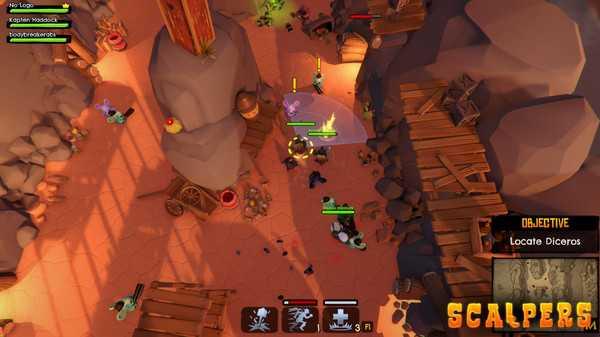 Screenshot SCALPERS: Turtle & the Moonshine Gang