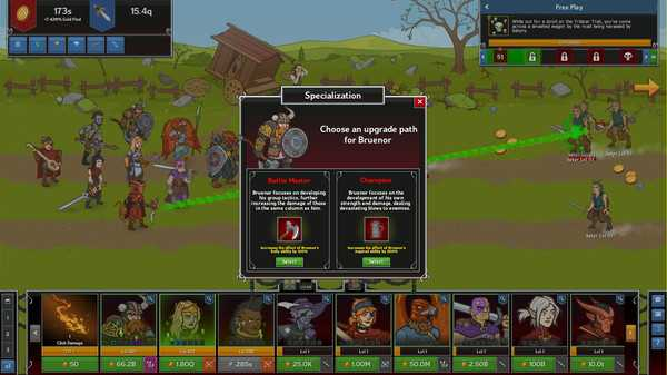 Screenshot Idle Champions of the Forgotten Realms