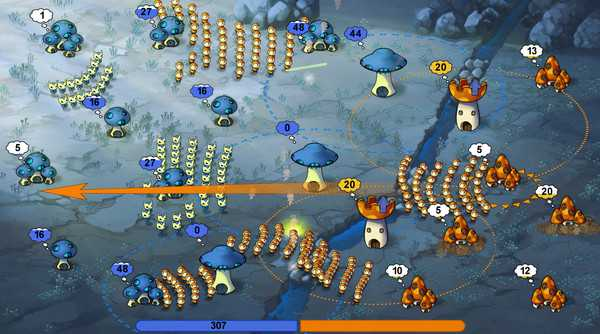Screenshot Mushroom Wars
