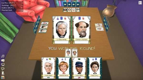 Screenshot Famousity Card Game