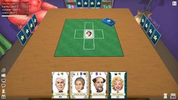Screenshot Famousity Card Game
