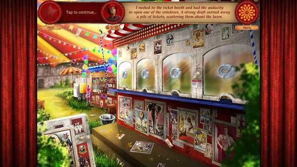 Screenshot Forgotten Places: Lost Circus