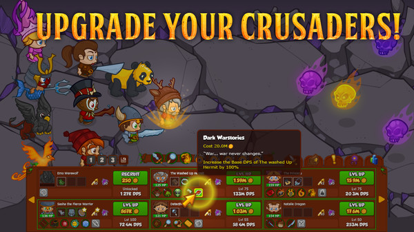 Screenshot Crusaders of the Lost Idols (7 Jeweled Chests)