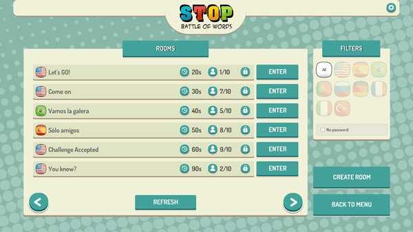 Screenshot Stop Online - Battle of Words