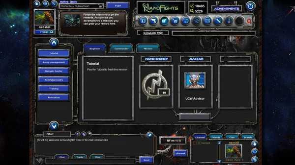 Screenshot Nanofights