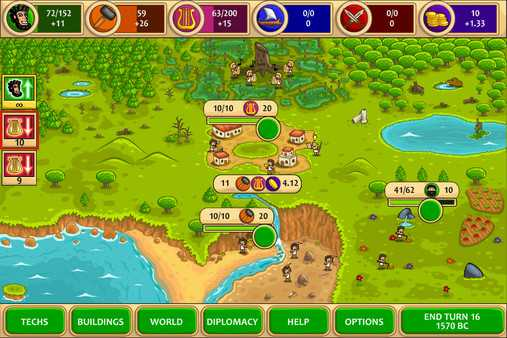 Screenshot Pre-Civilization Marble Age