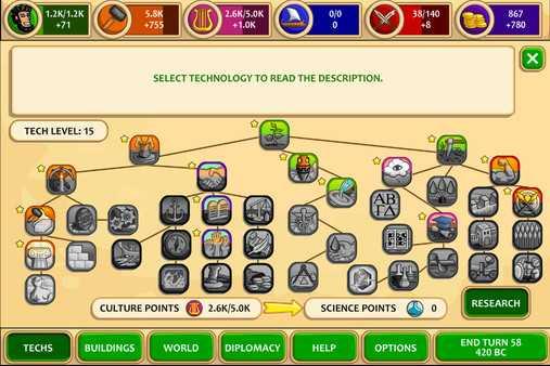 Screenshot Pre-Civilization Marble Age