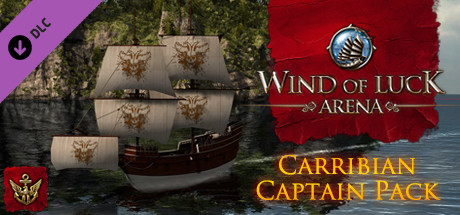 Wind of Luck: Arena - Caribbean Captain pack