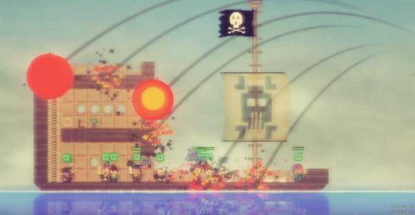 Screenshot Pixel Piracy