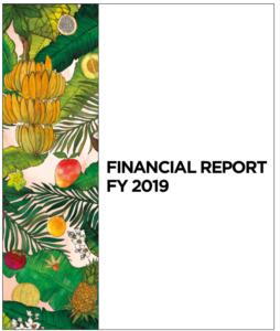 Financial Report FY 2019