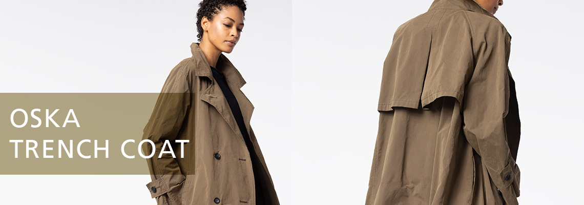 oska trench coat