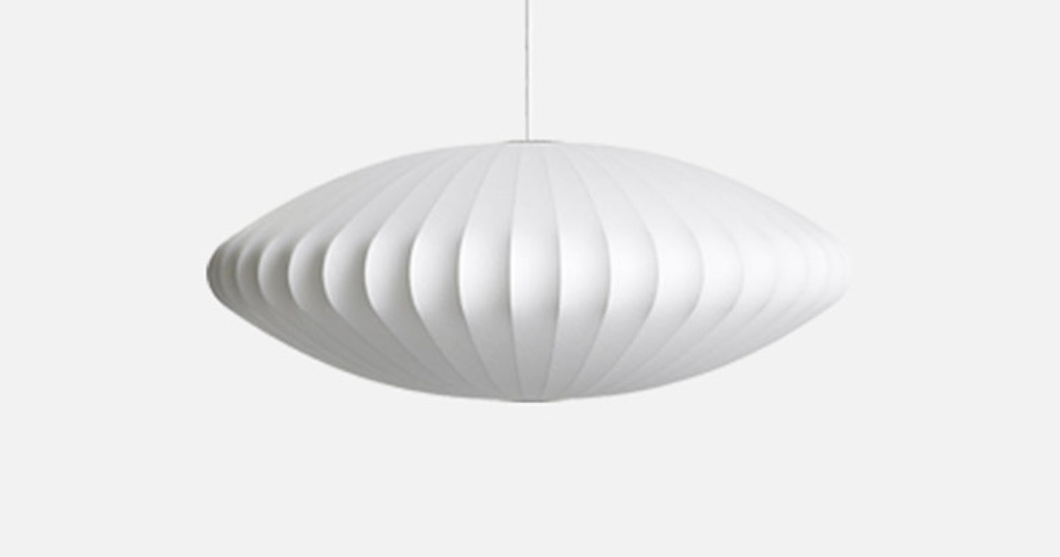 Taklampe Nelson Saucer Bubble M | OsloDeco