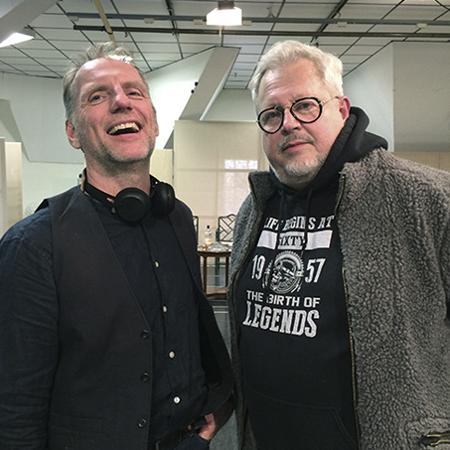 Jan-Erik Sääf och Staffan Aspegren. Foto: Jeanette Söderwall