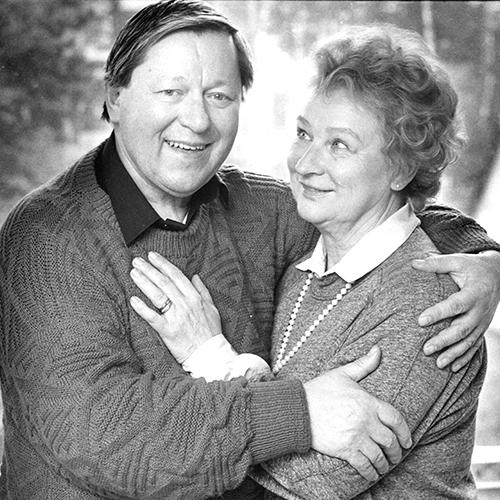 Margreth Weivers och Bertil Norström 1988. Foto: Per Björn, Aftonbladet/TT