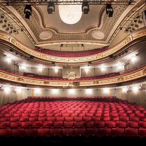 Salongen i Norrköpings teaterhus. Foto: Markus Gårder
