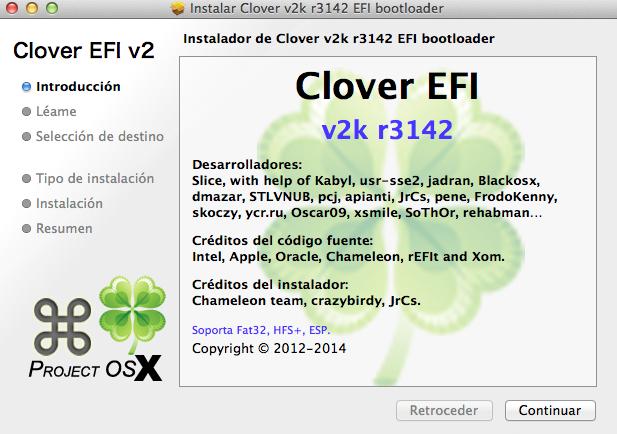 Clover v2k r3142 - Clover - osx86 net