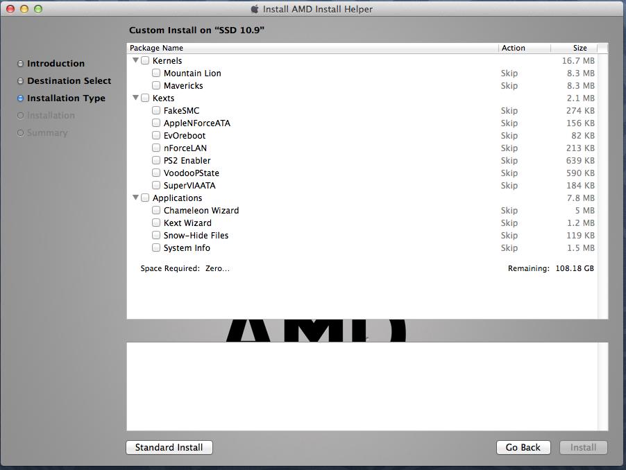 AMD Install Helper - Hackintosh Tools - osx86 net