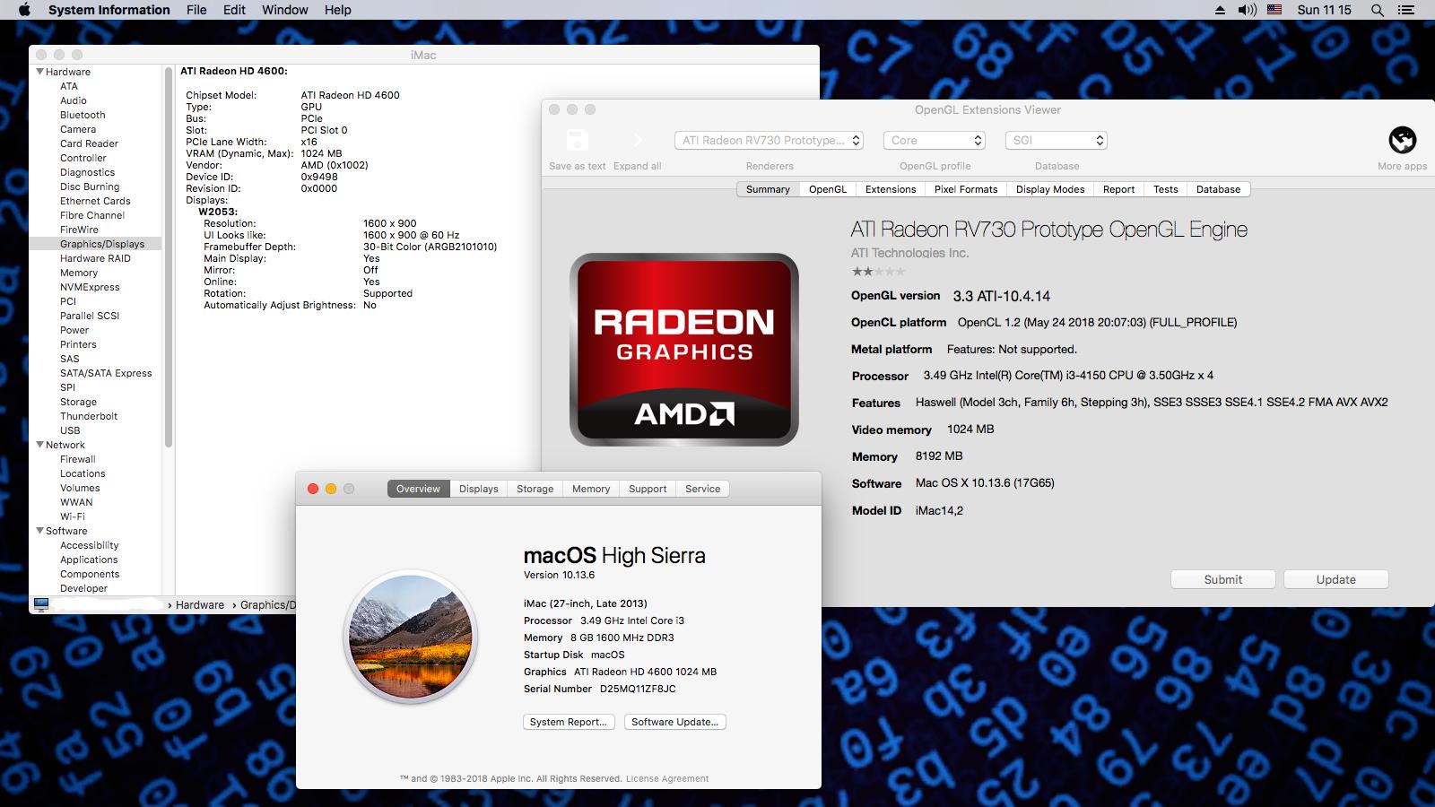 ATI Radeon HD 4650 for High Sierra 10 13 6 (17G65) - ATI