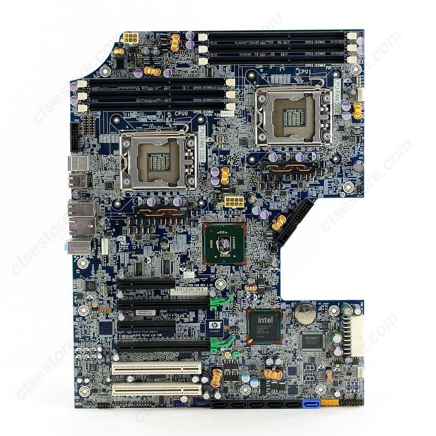 HP z800 Motherboard and dual Xeon CPU in a E-ATX case? - Motherboard