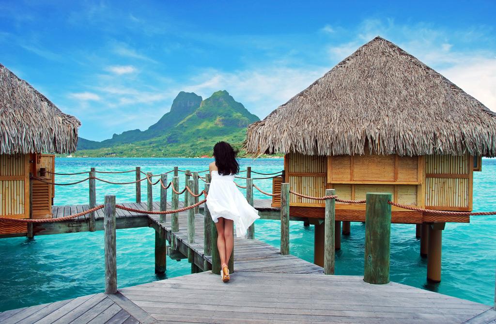 Фото: Остров Бора-Бора, Французская Полинезия