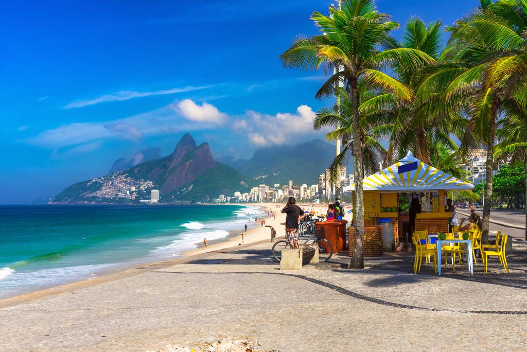 Фото: Ипанема, Бразилия