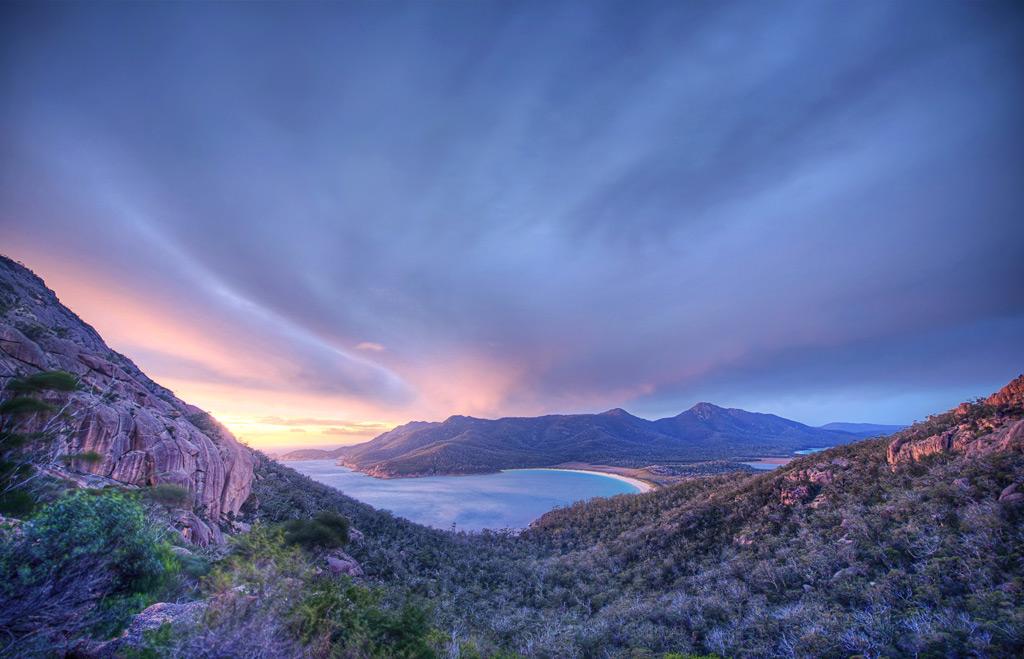 Фото: Бухта Вайнгласс, Австралия