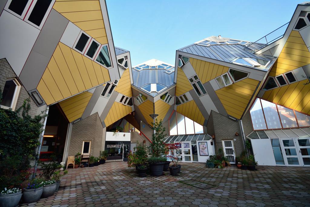 Фото: Кубические дома