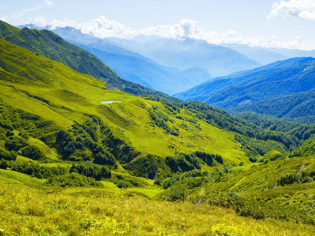 Фото: Альпийские луга Абхазии