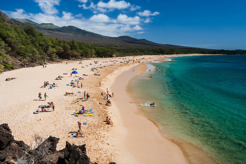 Фото: Макена Литл-Бич, Мауи, Гавайи