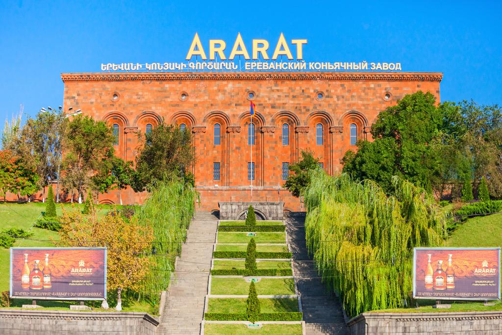 Фото: Ереванский коньячный завод