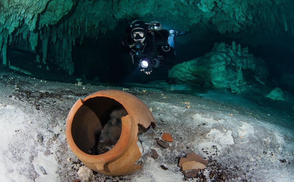 Фото: Пещерная система Сак-Актун