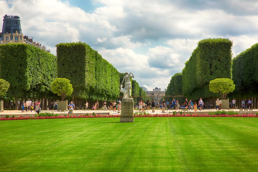 Фото: Знаменитый Люксембургский сад