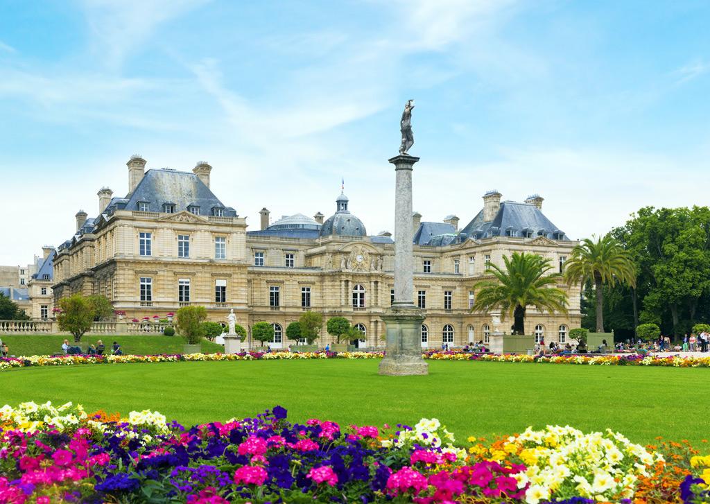 Фото: Люксембургский сад, Париж
