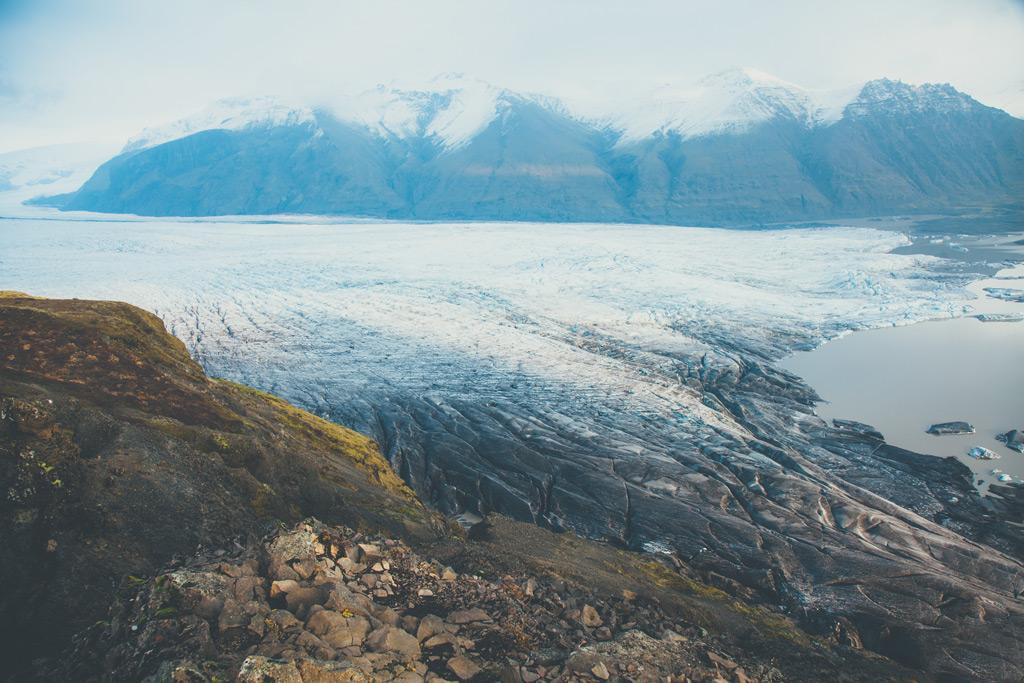 Фото: Ледник Ватнайёкюдль