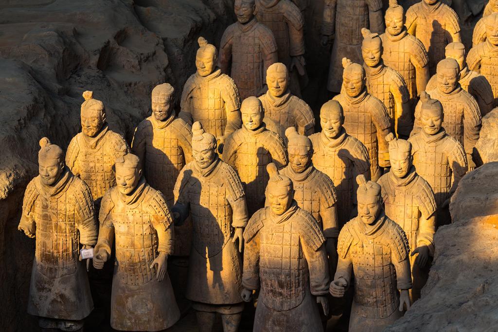 Фото: Терракотовая армия китайского императора