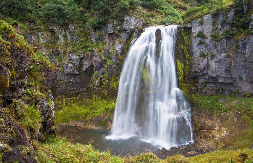 Фото: Вилючинский водопад