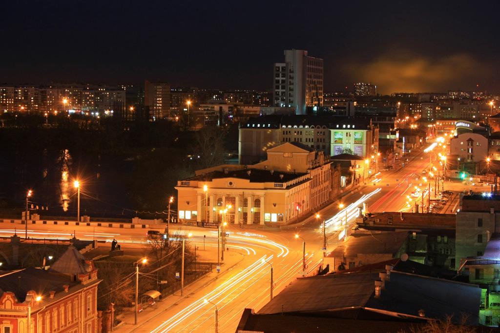 Фото: Панорама города Челябинск