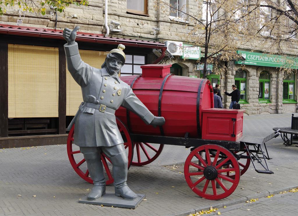 Фото: Центральная улица города – Кирова