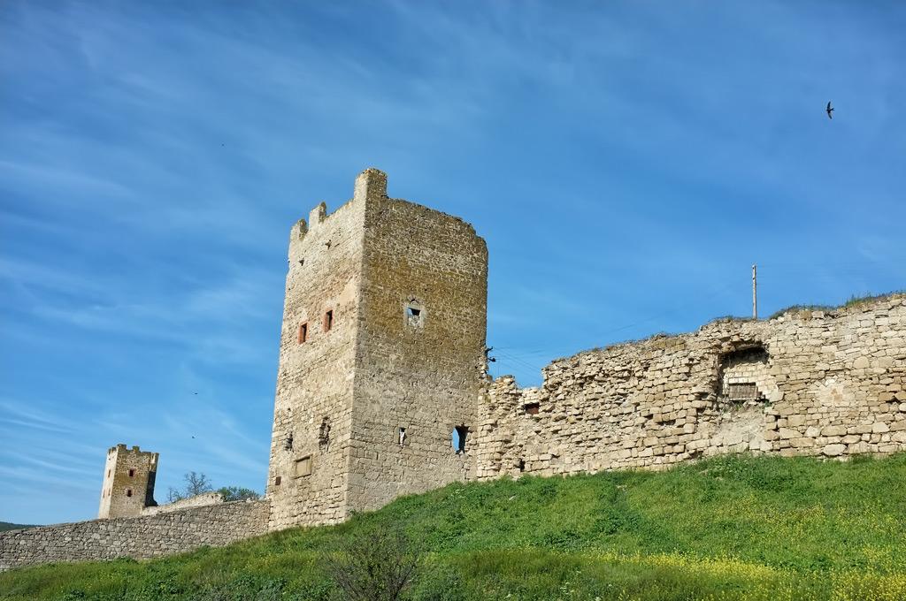Фото: Генуэзская крепость