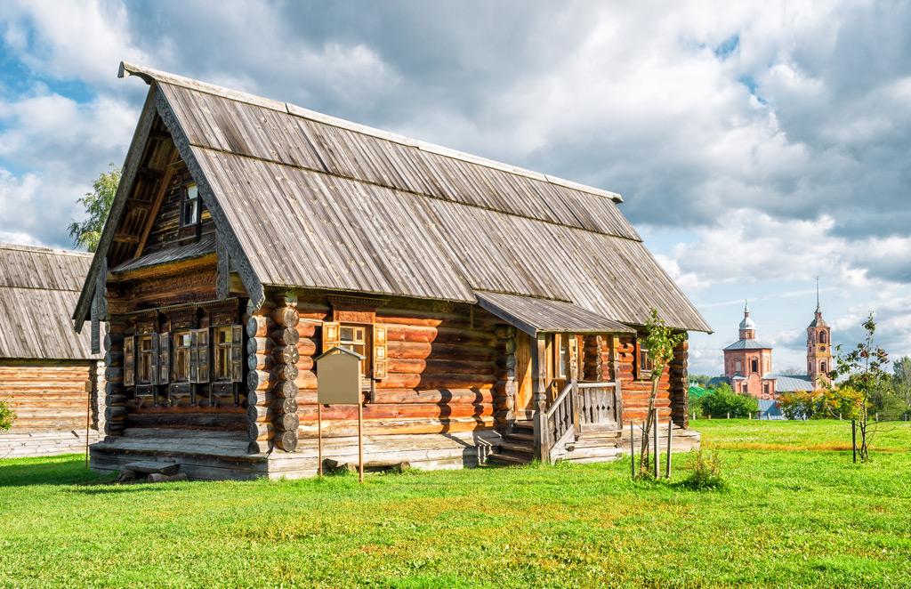 Фото: Традиционный русский дом