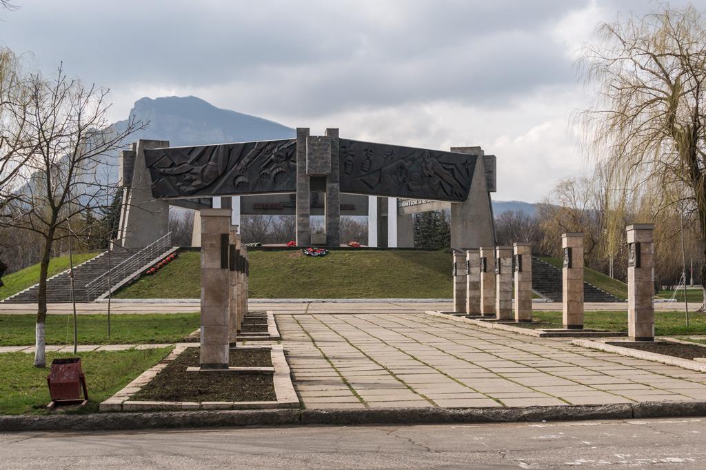 Фото: Памятный мемориал «Огонь Вечной славы»