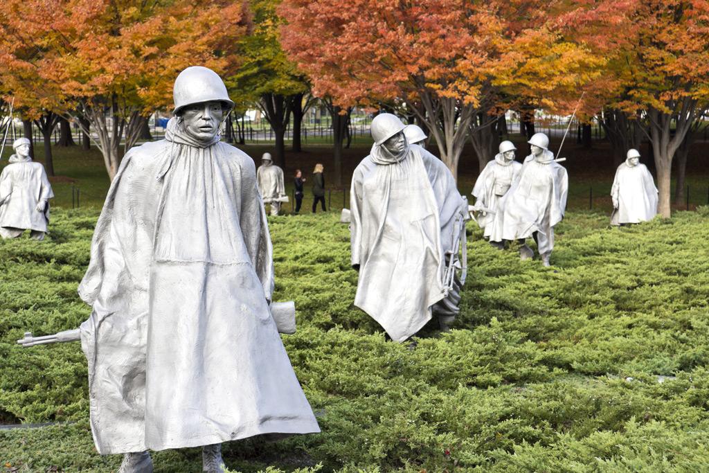 Фото: Мемориал ветеранам Корейской войны