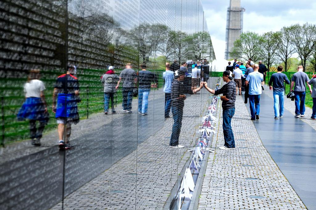 Фото: Мемориал ветеранам Вьетнамской войны