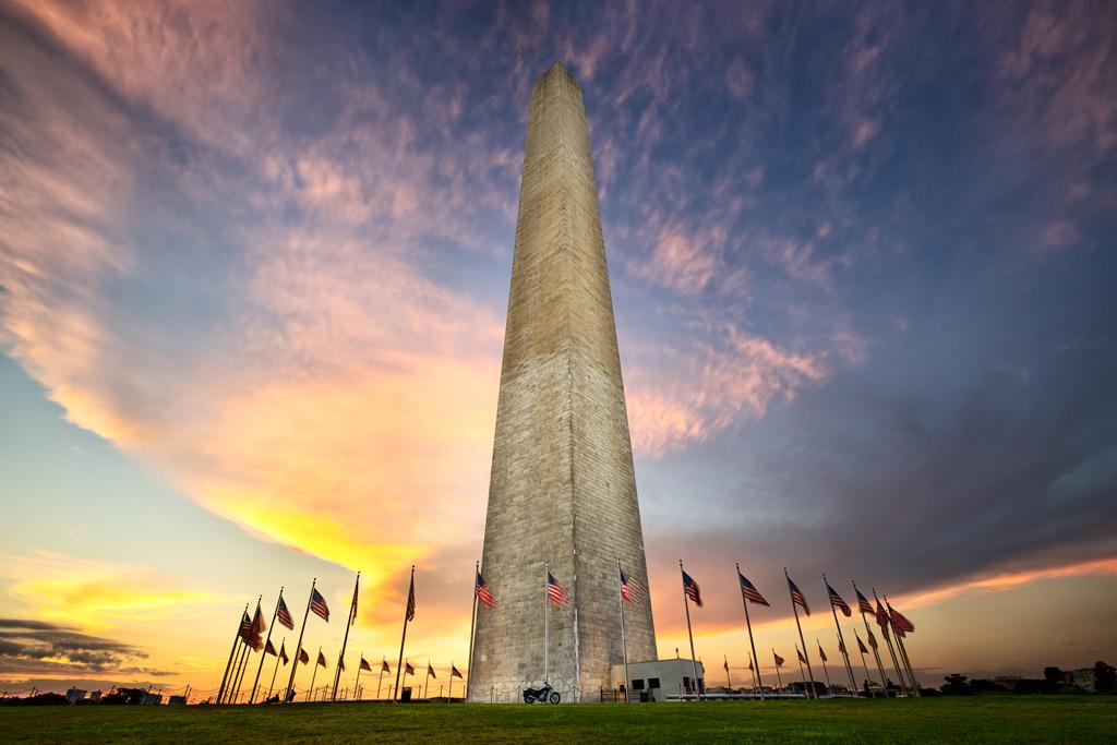 Фото: Монумент Джорджу Вашингтону