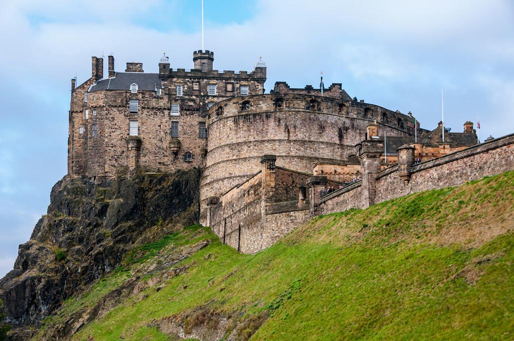 Фото: Эдинбургский замок, Шотландия